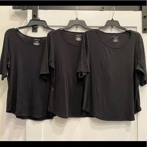 Black Basic 3/4 length sleeve Bundle